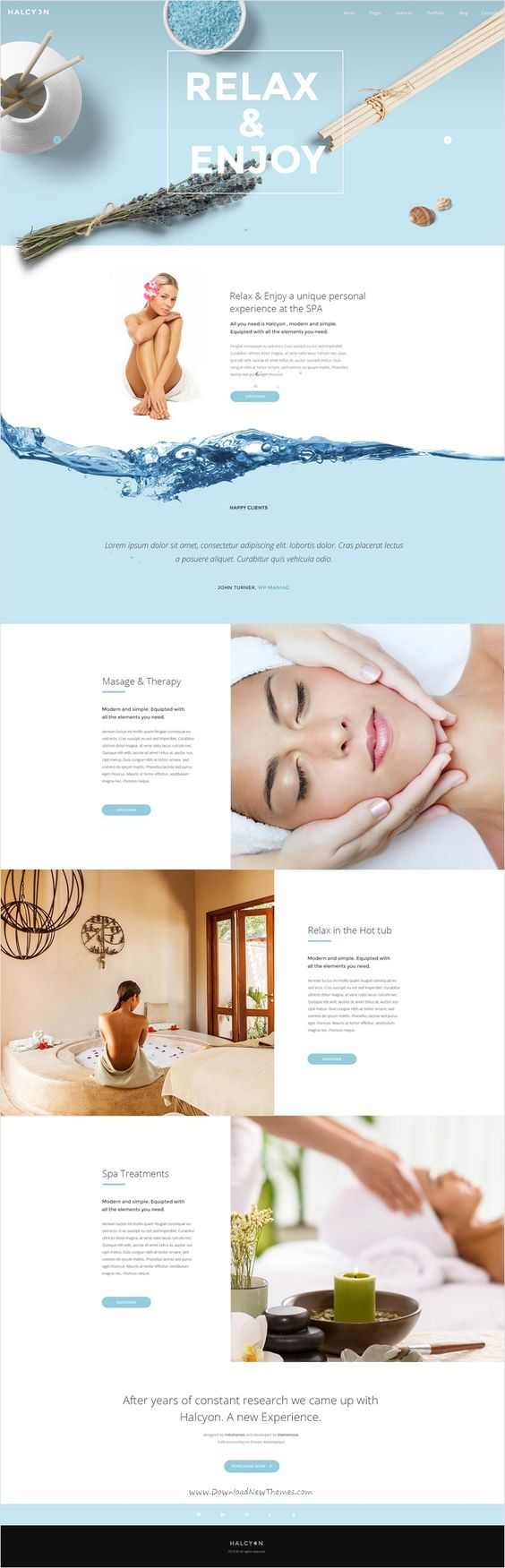 Website Design &#038; Brand inspiration<br> for Beauty &#038; Hair